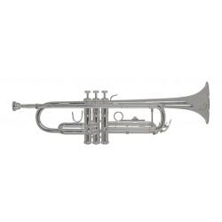 Trompeta Sib plateada BACH...