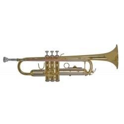 Trompeta Sib dorada BACH TR650
