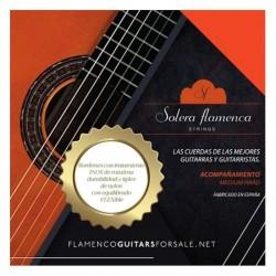 Juego de cuerdas flamencas...