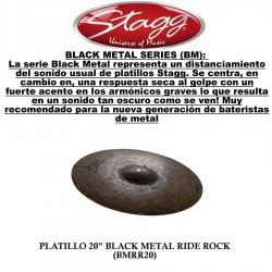 """PLATO RIDE 20"""" STAGG BLACK..."""